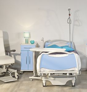 Mobilier hospitalier nos produits matifas for Chambre mobilier